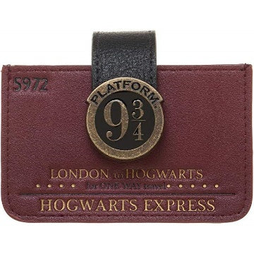 Bioworld Harry Potter Platform 9 3/4 Accordion ID Wallet