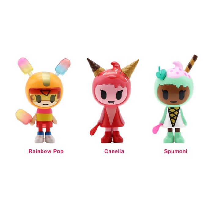 TokiDoki Ice Cream Girls 3pk