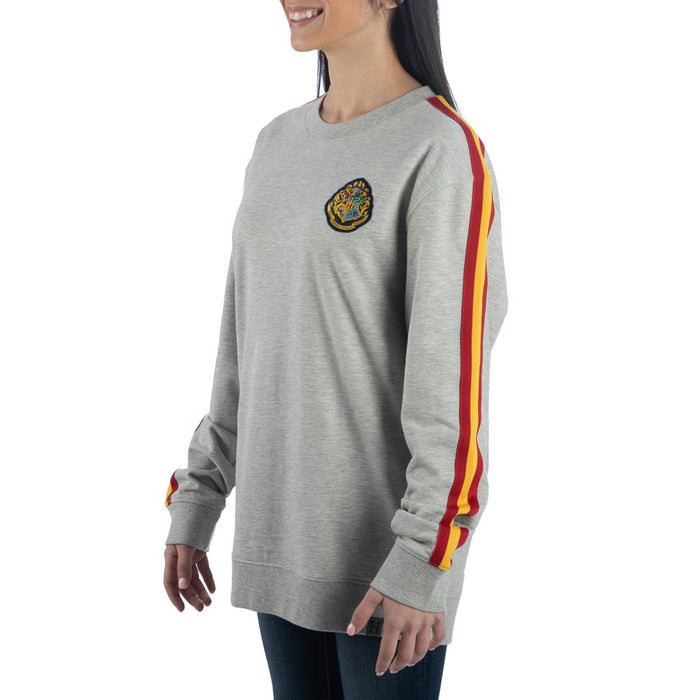 Harry Potter Hogwarts Red and Yellow Stripe Sweatshirt