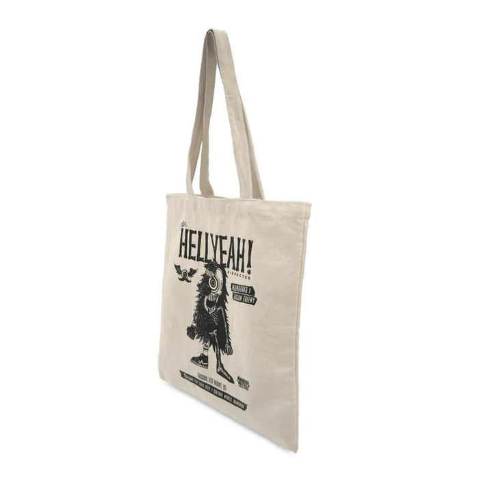 MAMAFAKA x JASON FREENY Mister HellYeah Dissected Canvas Tote Bag