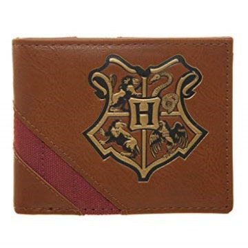 Bioworld Harry Potter Hogwarts Crest Bifold Wallet