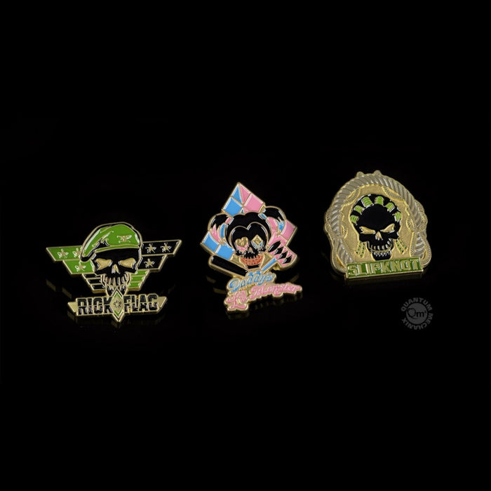 QMx Suicide Squad Lapel Pin Set 3