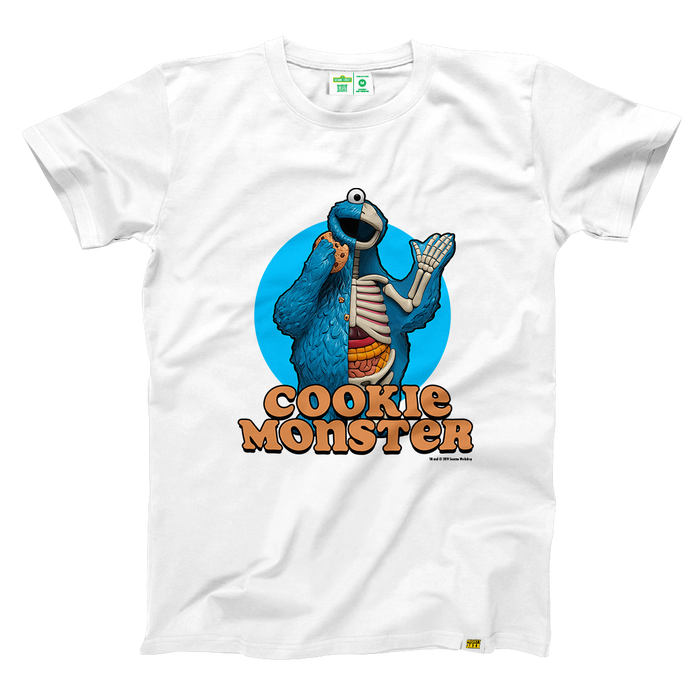 SS x JF White Cookie Monster T-Shirt