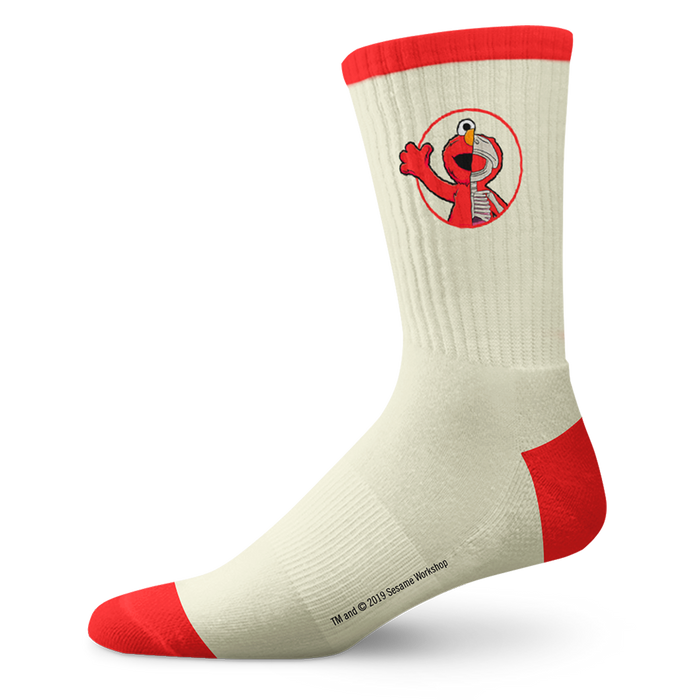 SS x JF Cream / Red Elmo Socks