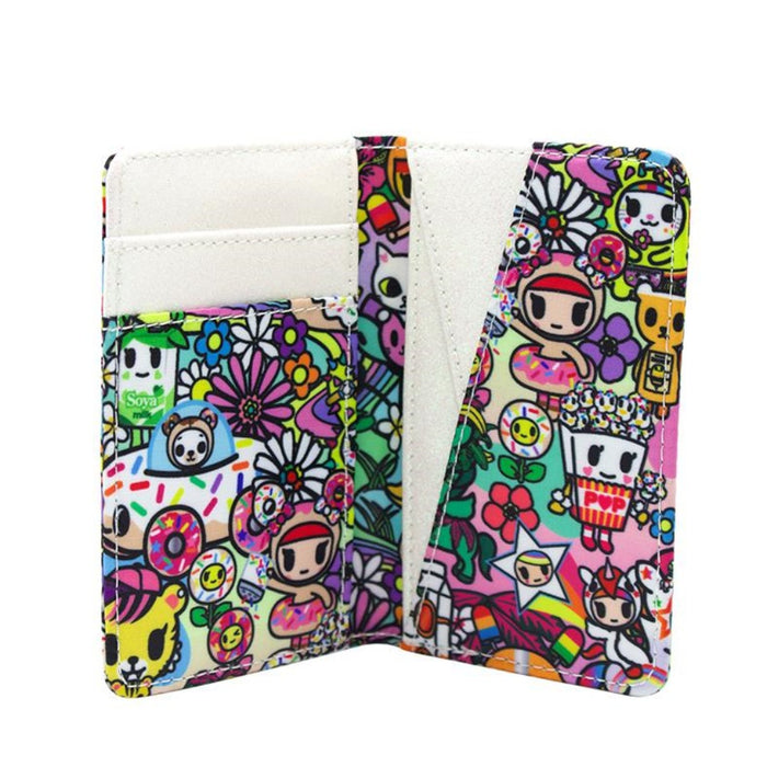 TokiDoki Flower Power Small Fold Wallet