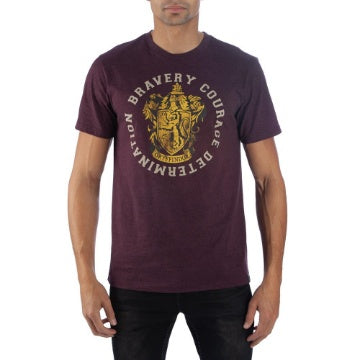 Bioworld Harry Potter High Density Text Gryffindor T-Shirt