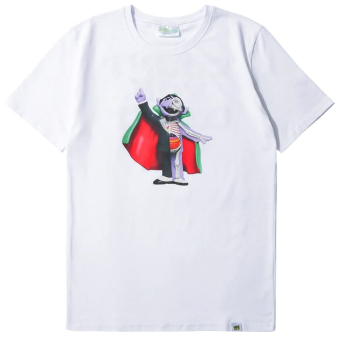 Mighty Jaxx Count von Count White T-Shirt