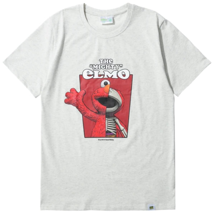 Mighty Jaxx SS x JF Elmo Cream T-Shirt