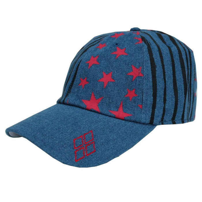 Harley Quinn Birds of Prey Washed Denim Cap