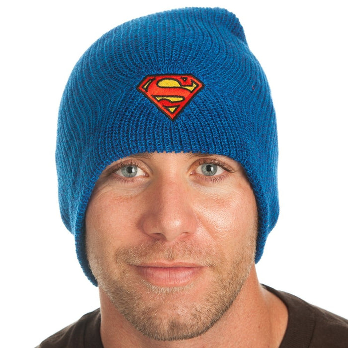 Warner Bros Superman Marled Slouch Beanie
