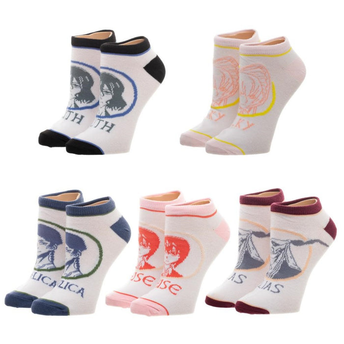 Crunchyroll Ancient Magus Bride 5pk Socks