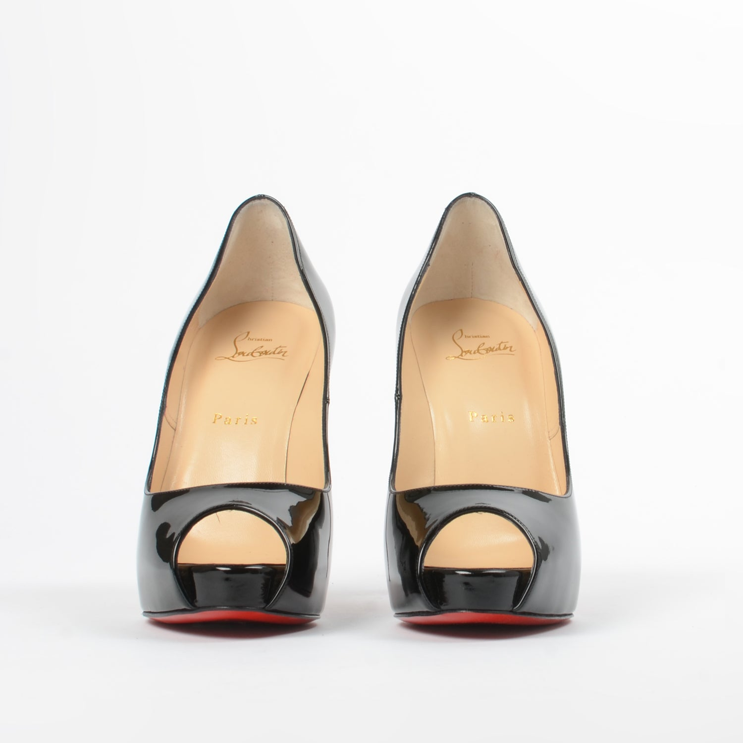 best website c030b ecca6 Christian Louboutin New Very Prive 120 mm - Size 40 – The ...