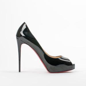 best website 8393b fee8d Christian Louboutin New Very Prive 120 mm - Size 40 – The ...