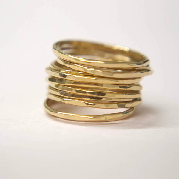 Hammered Rings - StyleMeGHD