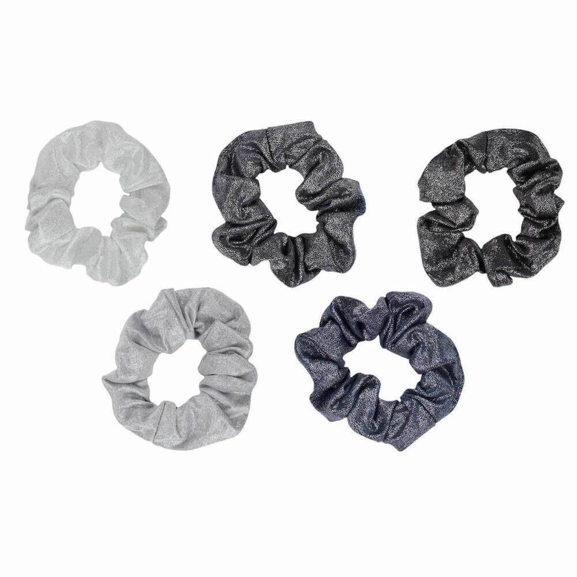 Metallic Scrunchies (Set of 5) - StyleMeGHD
