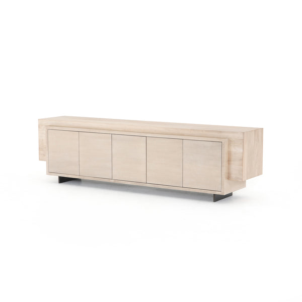 Paseo Media Console-Ashen Walnut - StyleMeGHD