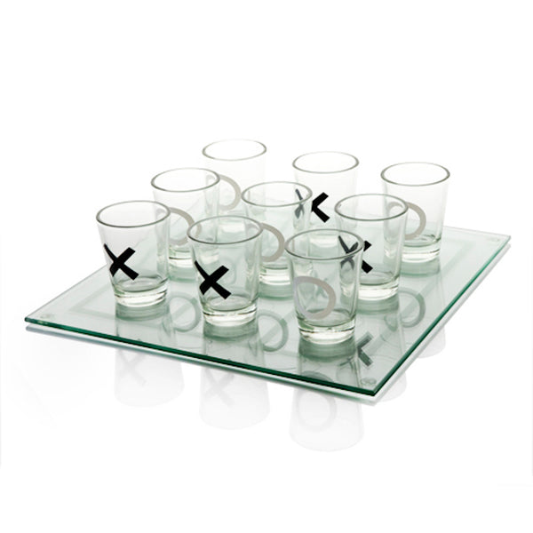 Tic Tac Toe Shot Drinking Game Board - StyleMeGHD