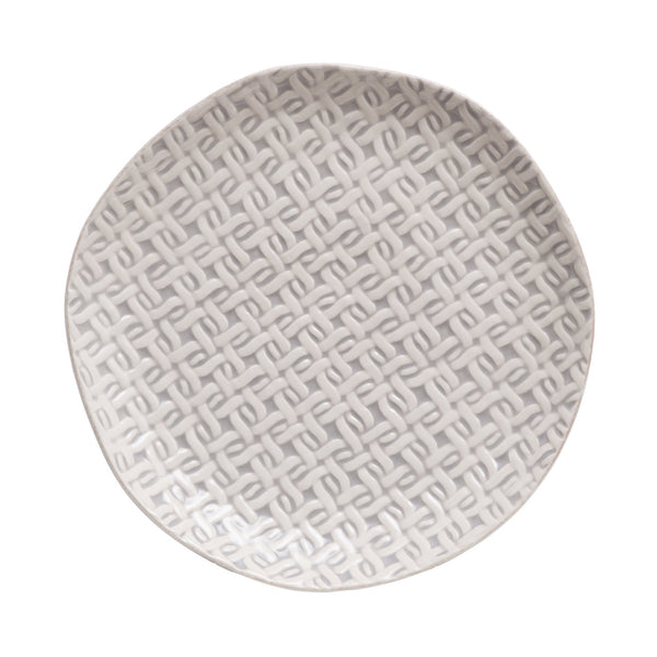 ANNABELLE WEAVE SALAD PLATE (set of 4)