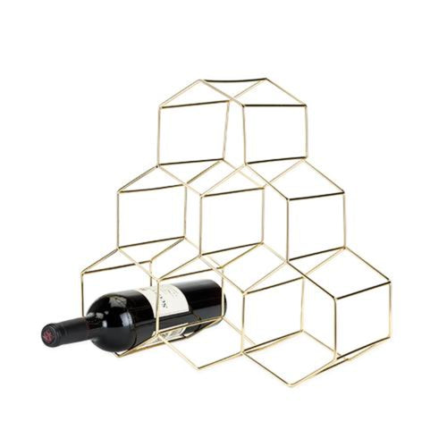 Honeycomb Wine Rack - StyleMeGHD