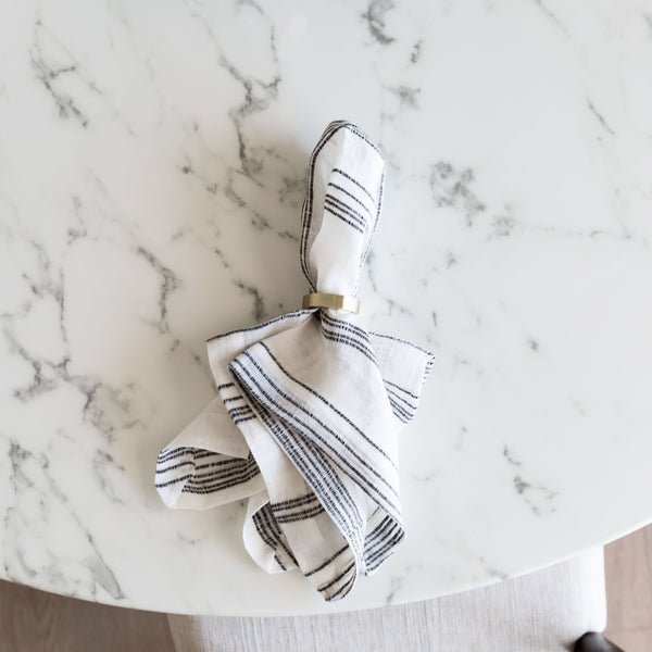 BLONDIE NAPKIN RING (set of 5)