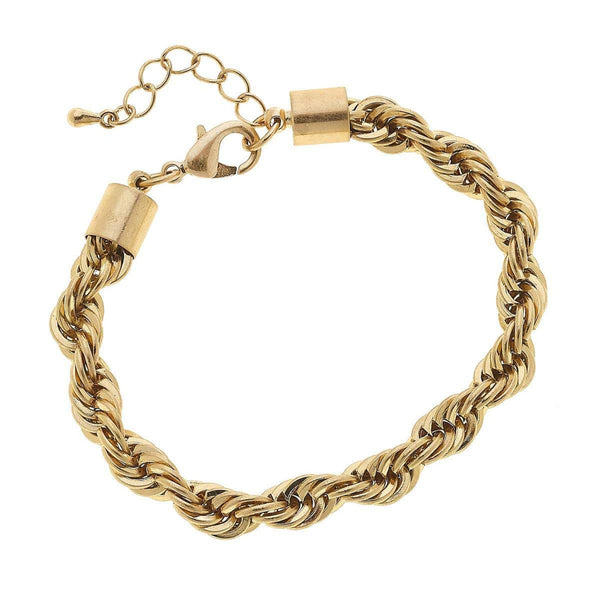 Alex Twisted Chain Bracelet - StyleMeGHD