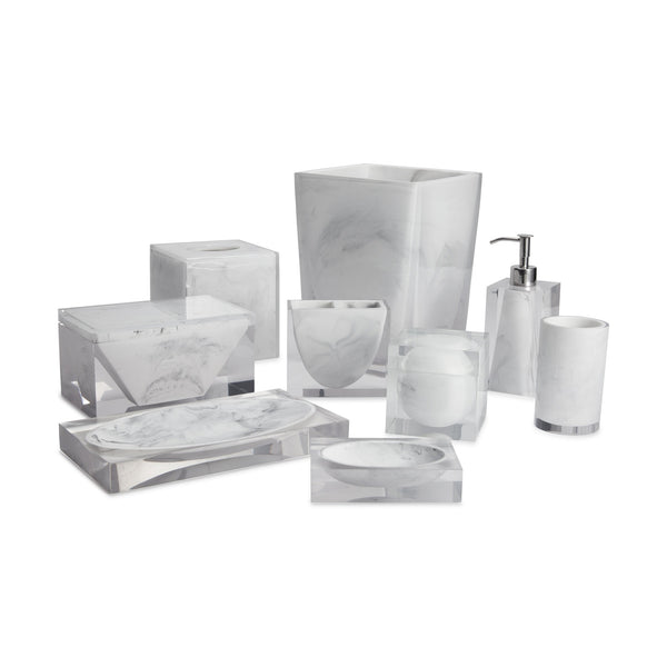 WHITE CADILLAC BATH ACCESSORIES - StyleMeGHD