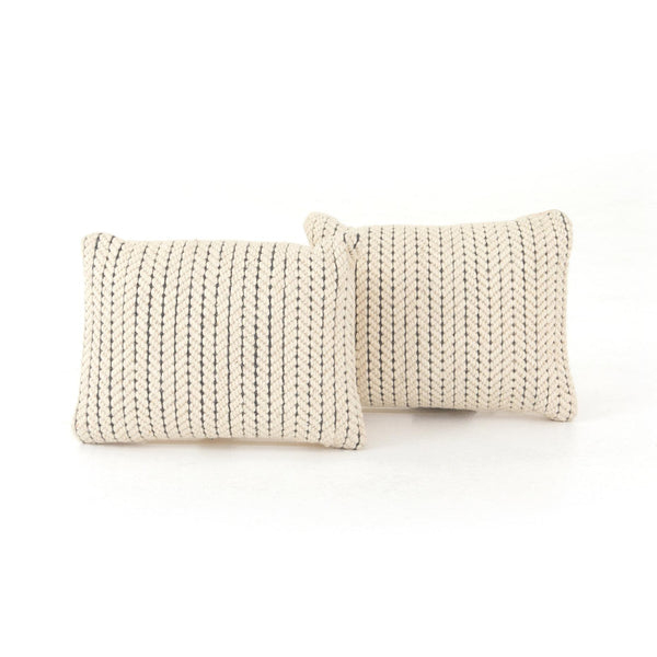 Ari Rope Weave Pillow, Set Of 2 - StyleMeGHD