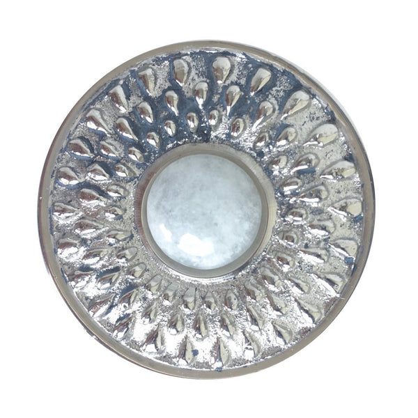 Capella Large Nickel Knob - StyleMeGHD