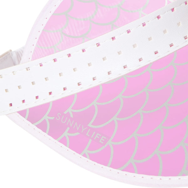 MERMAID SCALE SUN VISOR