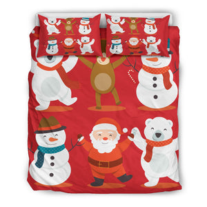 Merry Christmas Bedding Set