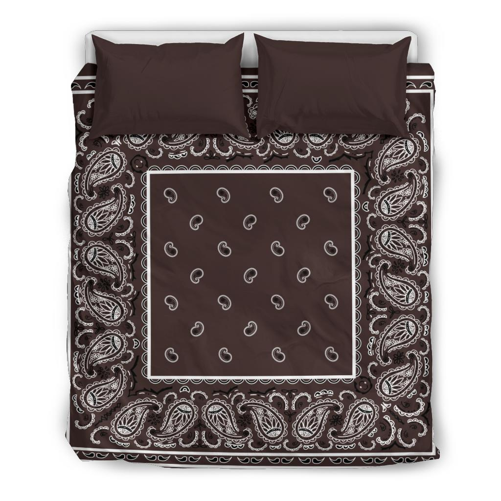 Mocha  Duvet Cover Set