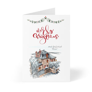 A home in France - Personalised Christmas cards