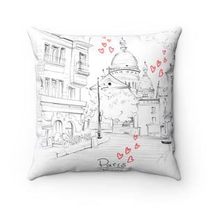 Sacre coeur French cushion
