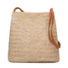 Load image into Gallery viewer, Bali - Vintage bohemian, Crossbody Straw bag