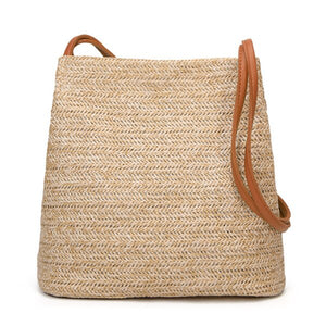 Bali - Vintage bohemian, Crossbody Straw bag