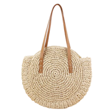 Load image into Gallery viewer, Avignon - French, round, string, basket bag
