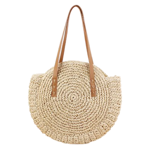 Avignon - French, round, string, basket bag