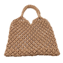 Load image into Gallery viewer, Macc - French handmade macrame woven string bag