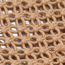 Load image into Gallery viewer, Macca - Modern macrame, mesh shoulder bad - great for the beach or the market!
