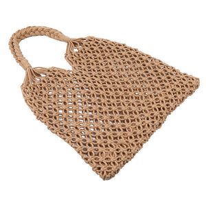 Macca - Modern macrame, mesh shoulder bad - great for the beach or the market!