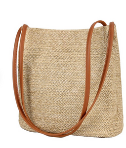 LA ville - French woven rattan bag from A home In France-eu.com