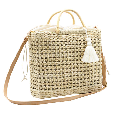 ROCCO - Handmade wicker and bamboo bag