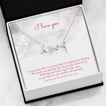 Load image into Gallery viewer, I love you pendant necklace
