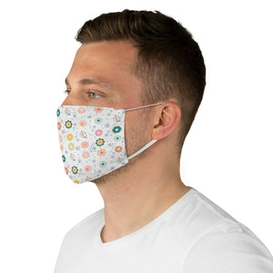 Fabric Face Mask - MADE TO ORDER - Washable and fitted