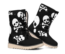Load image into Gallery viewer, Skull & Crossbones Polar Boots