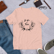 Load image into Gallery viewer, La vie en rose  - MIDI French peau, short sleeved t-shirt