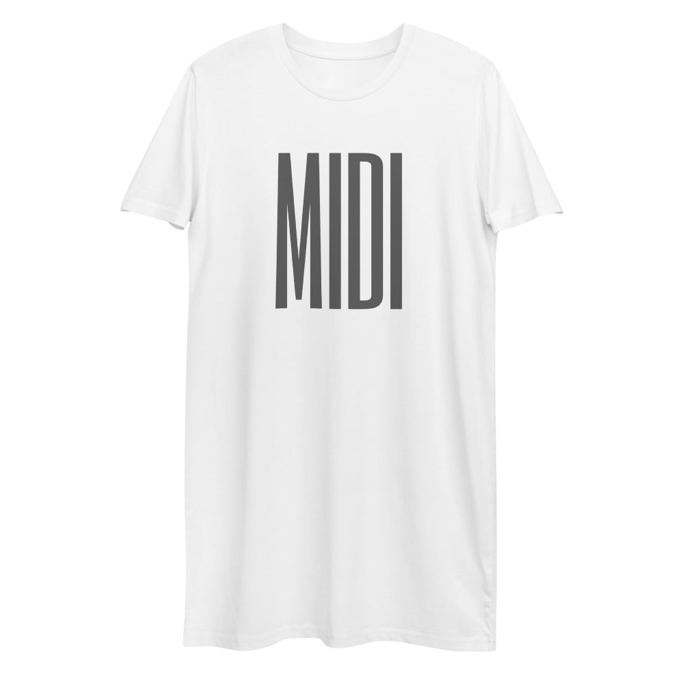 MIDI Organic cotton t-shirt dress