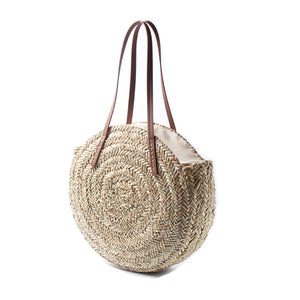 Anise - French large straw basket bag