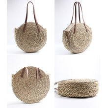 Load image into Gallery viewer, Anise - French large straw basket bag