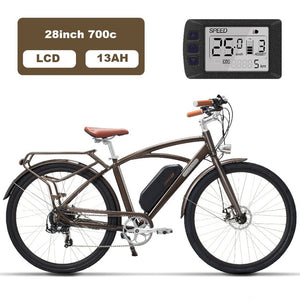 Luxury 26inch, electric, retro bicycle